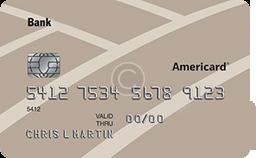 บัตรเครดิตธนาคาร Americard®