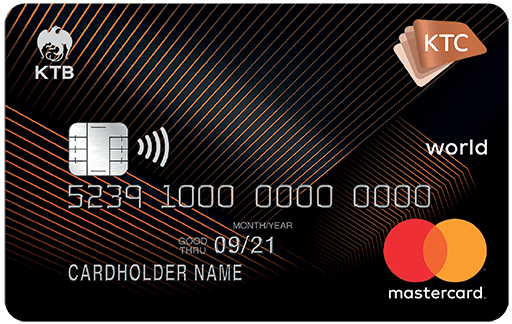 KTC WORLD REWARDS MASTERCARD