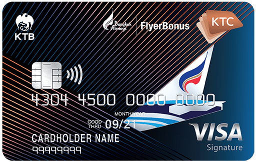 KTC – BANGKOK AIRWAYS VISA SIGNATURE