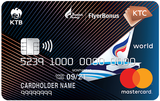 KTC – BANGKOK AIRWAYS WORLD REWARDS MASTERCARD