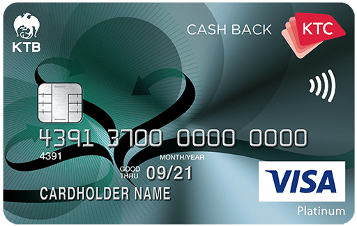 KTC CASH BACK VISA PLATINUM