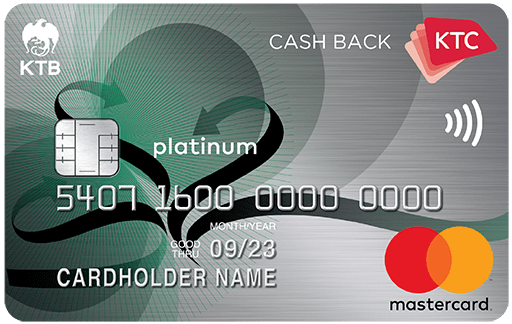 KTC CASH BACK PLATINUM MASTERCARD